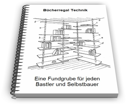 Bücherregal Technik