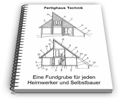 Fertighaus Technik