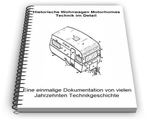 Historische Wohnwagen Selbst Bauen Technik Baupläne