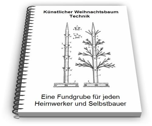 k nstlichen weihnachtsbaum selbst bauen christbaum. Black Bedroom Furniture Sets. Home Design Ideas