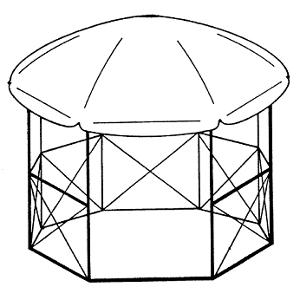 pavillon selbst bauen gartenpavillon technik baupl ne. Black Bedroom Furniture Sets. Home Design Ideas
