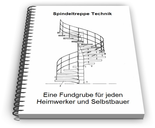 Spindeltreppe Technik