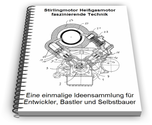 Stirlingmotor Technik