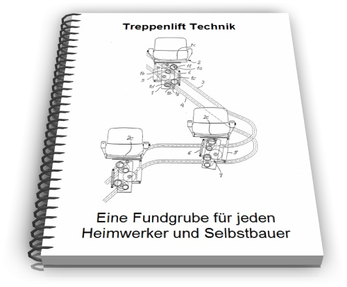 Treppenlift Technik