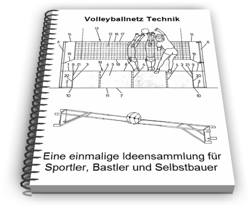 Volleyballnetz Technik